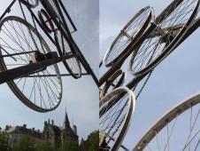 Parapluies de T roue